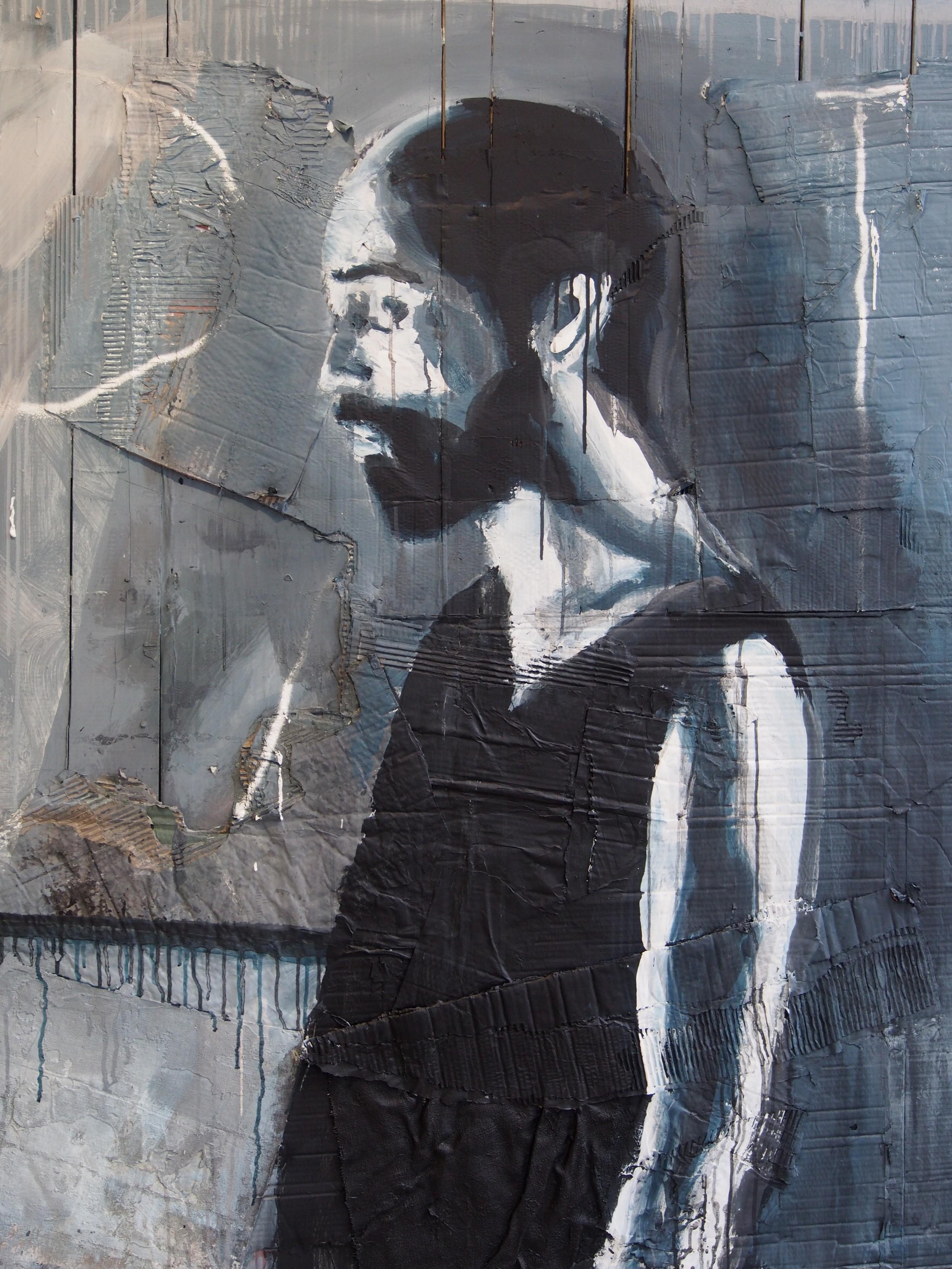 Painting by Aldo van den Broek
