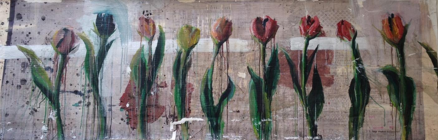 Beautiful Distress (Tulips), 2015