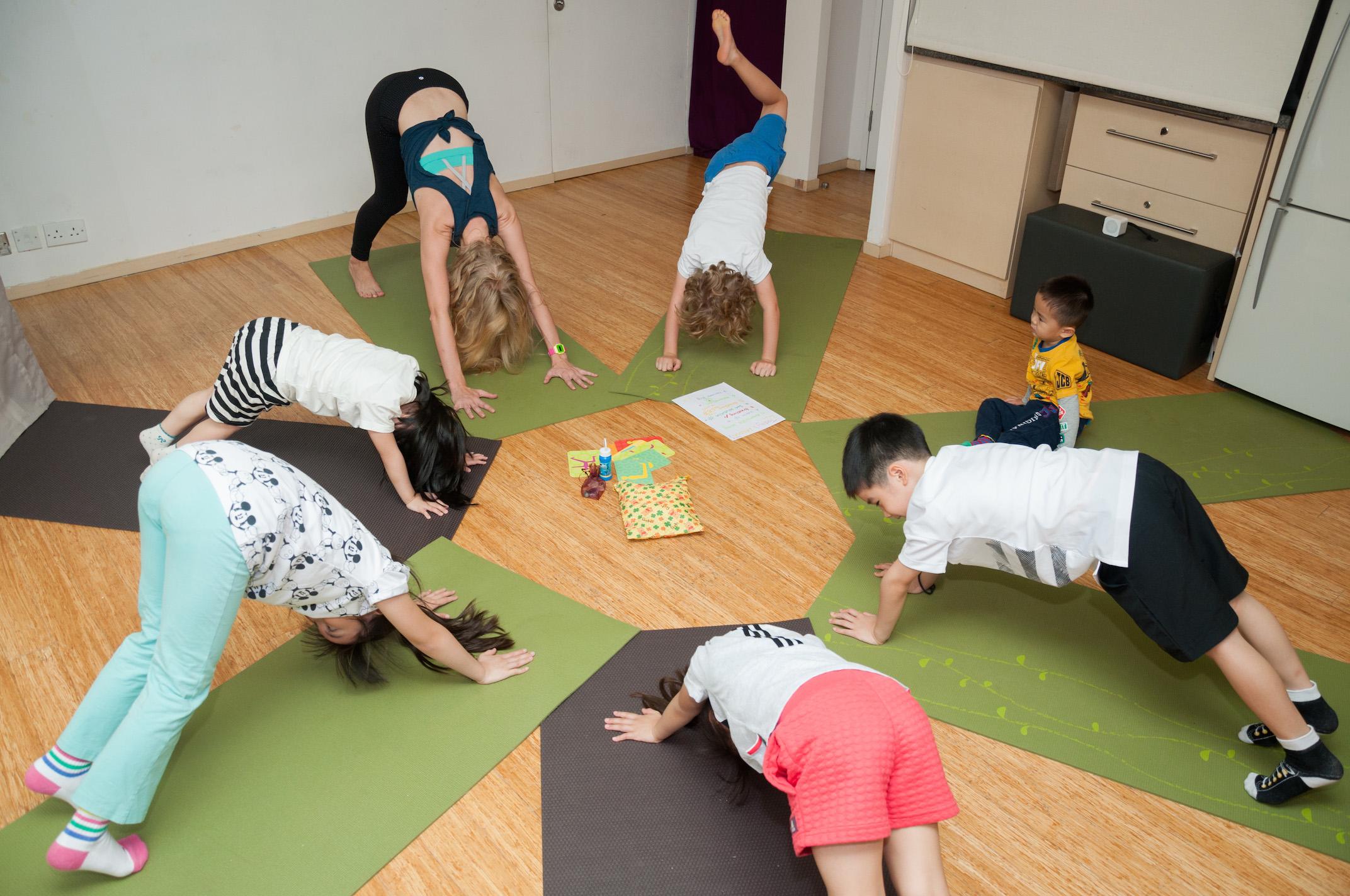 Children's yoga in Hong Kong