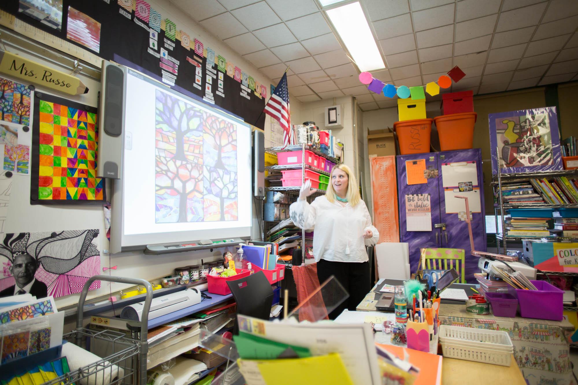 DonorsChoose.org Teacher in Action