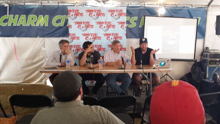 Andy Hershberger, Andrew Aydin, Matt Dembicki, and Jason Rodriquez speak about the impact of comics.