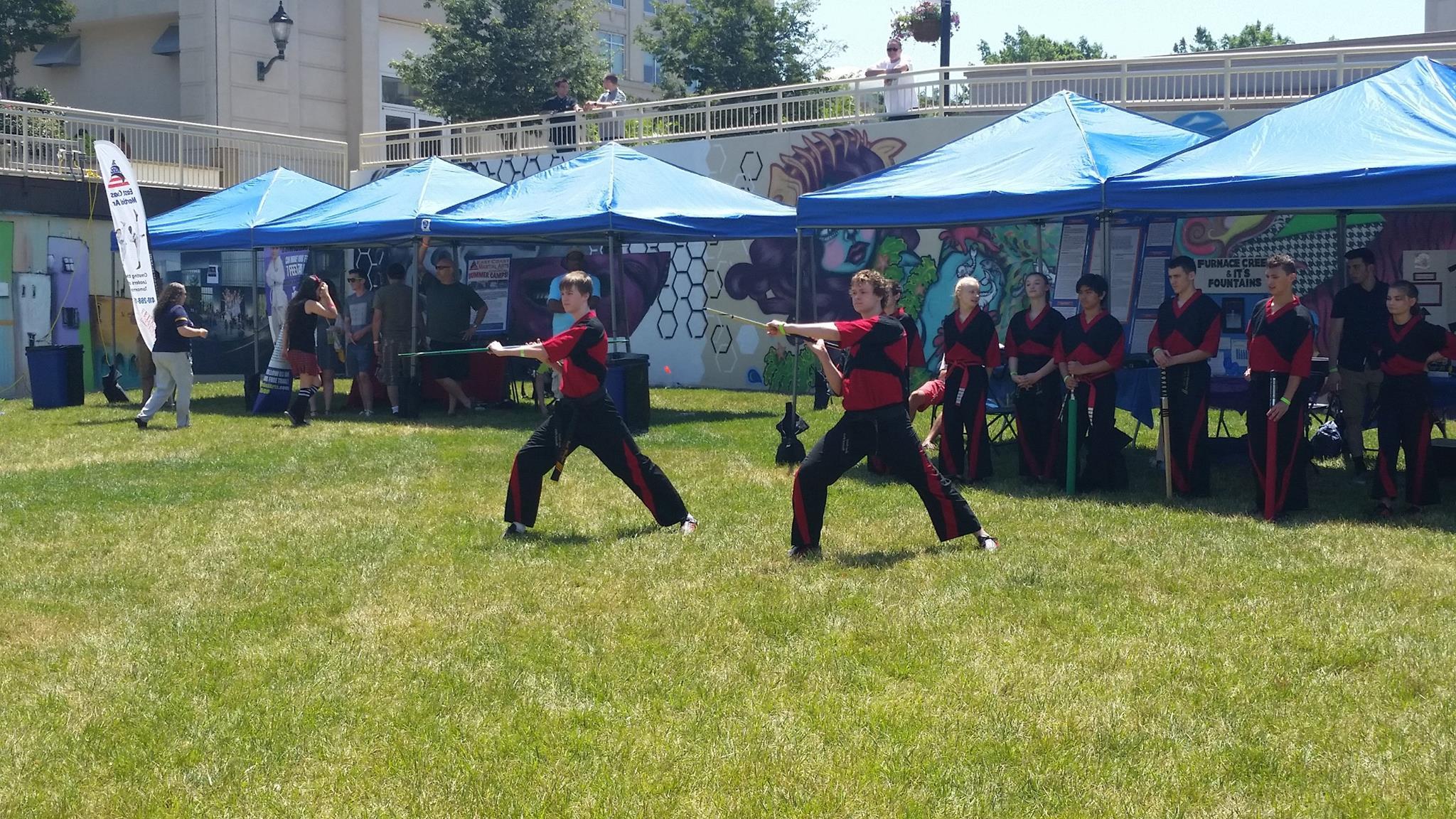 The East Coast Martial Arts society