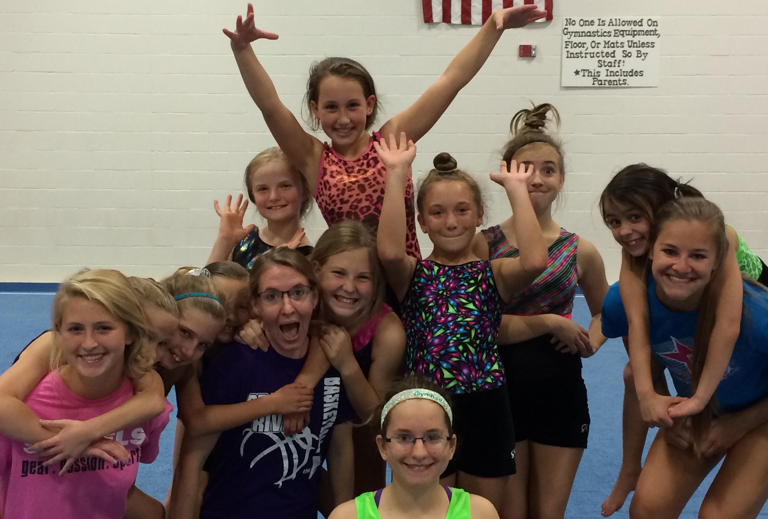 Gymnastics Fun 1