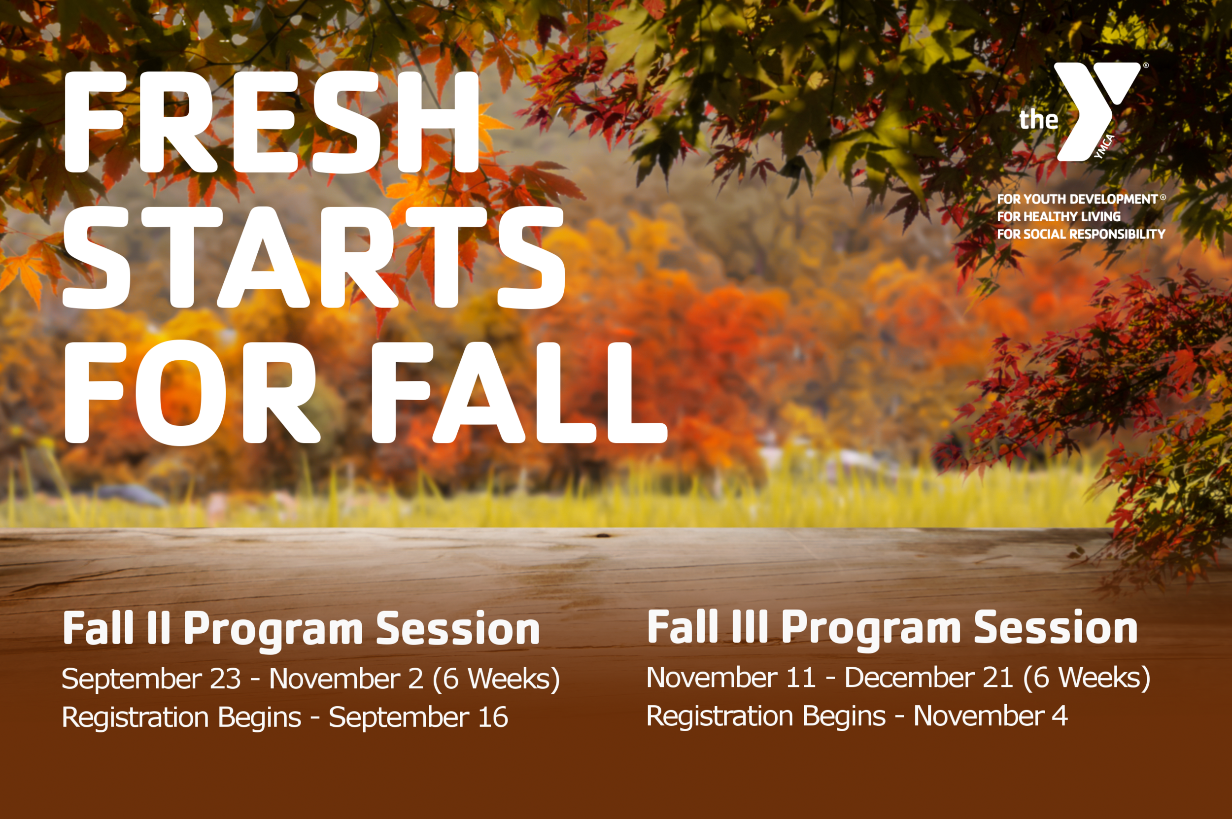 2019-GR-Fresh Starts for Fall Fall II and Fall III Sessions and Registrations.png