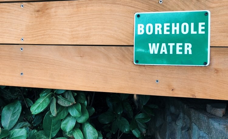 Water conservation sign cape town - Borehole