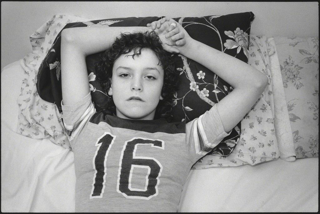 """Mary Ellen Mark             Tiny  , 1983   """"Tiny: Streetwise Revisited – Photographs by Mary Ellen Mark"""" at Norton Museum of Art, West Palm Beach"""
