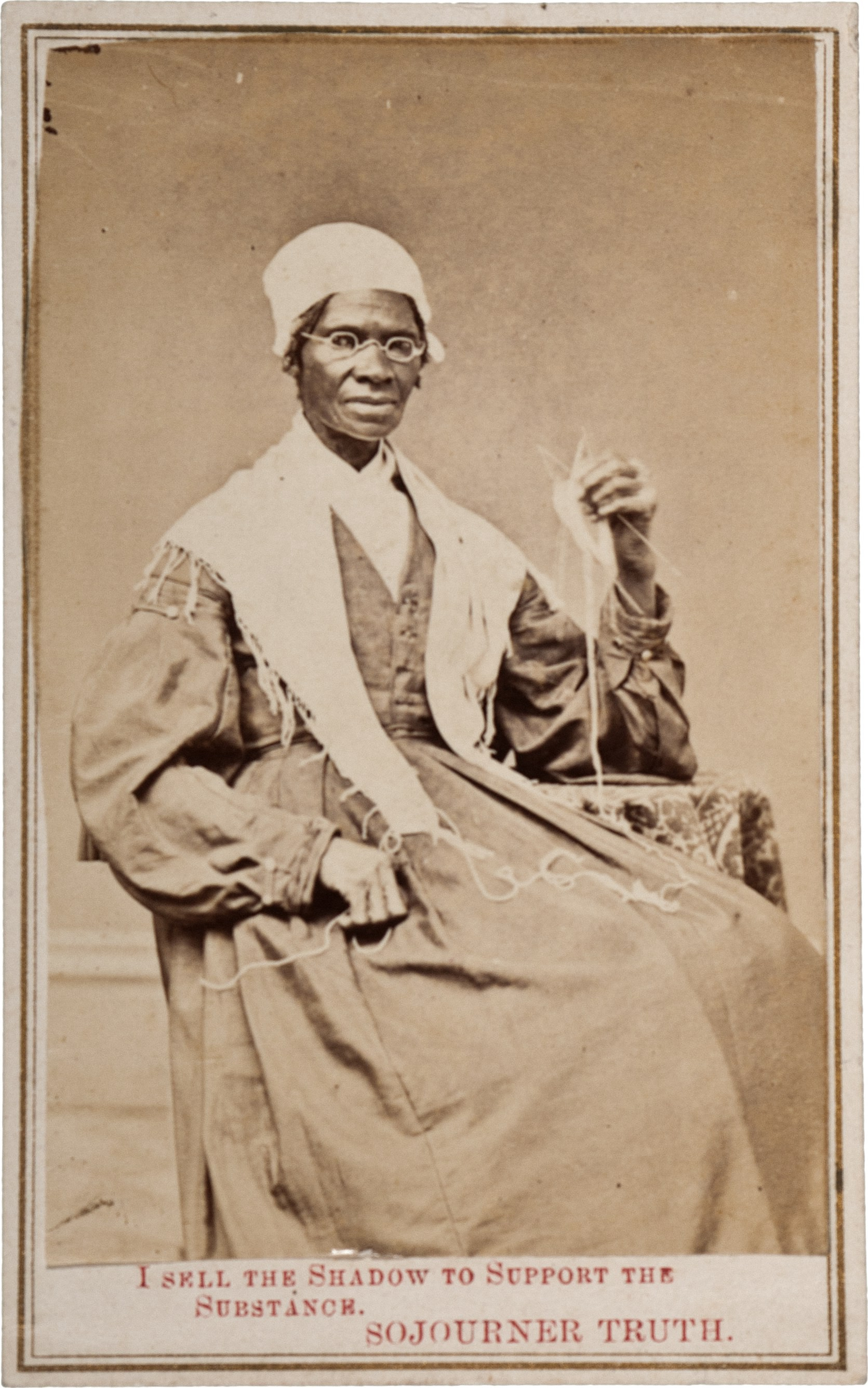 Fundraising photographer of Sojourn Truth - public domain