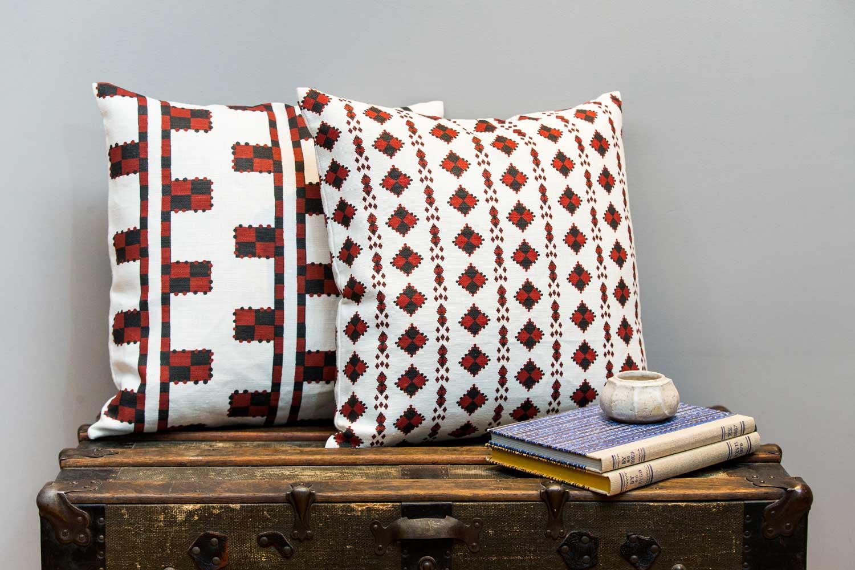 Abbot-Atlas-karpthos-diamond-ladder-pomagranite-fabric-linen-printed-pillow-cushion-truck.jpg