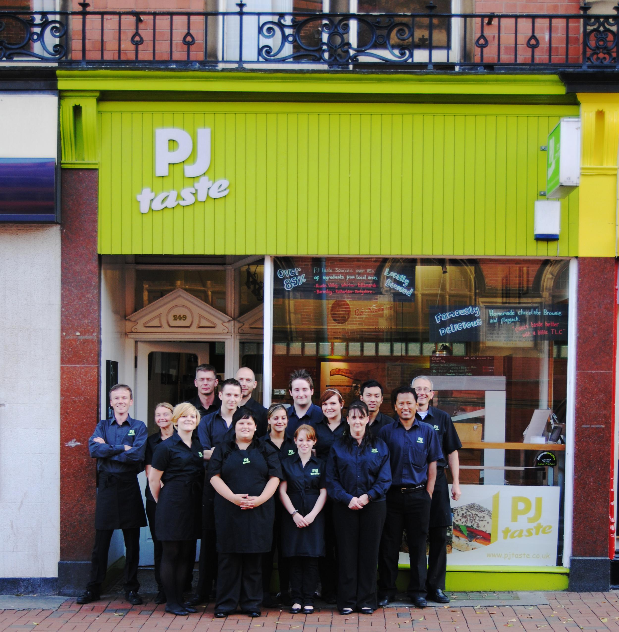 Our West Street shop in Sheffield