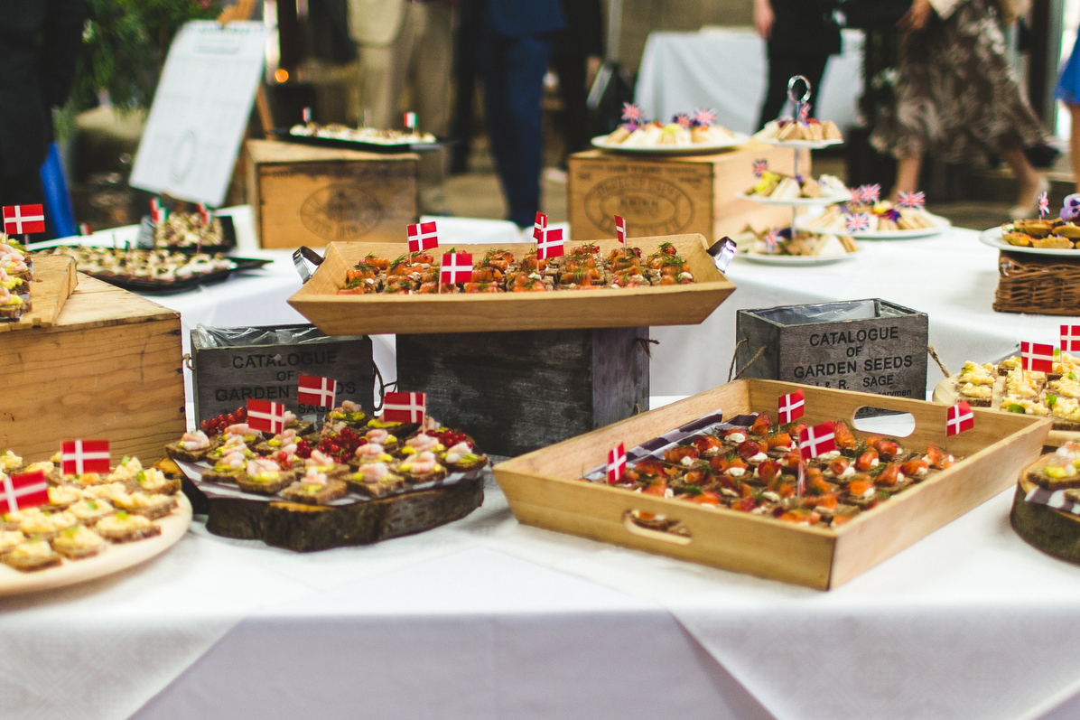 Themed canapes