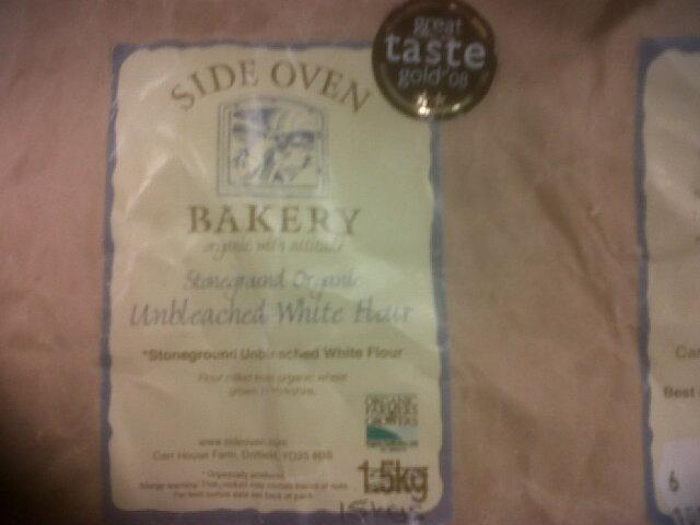 Carr House Farm Gold taste Award Flour