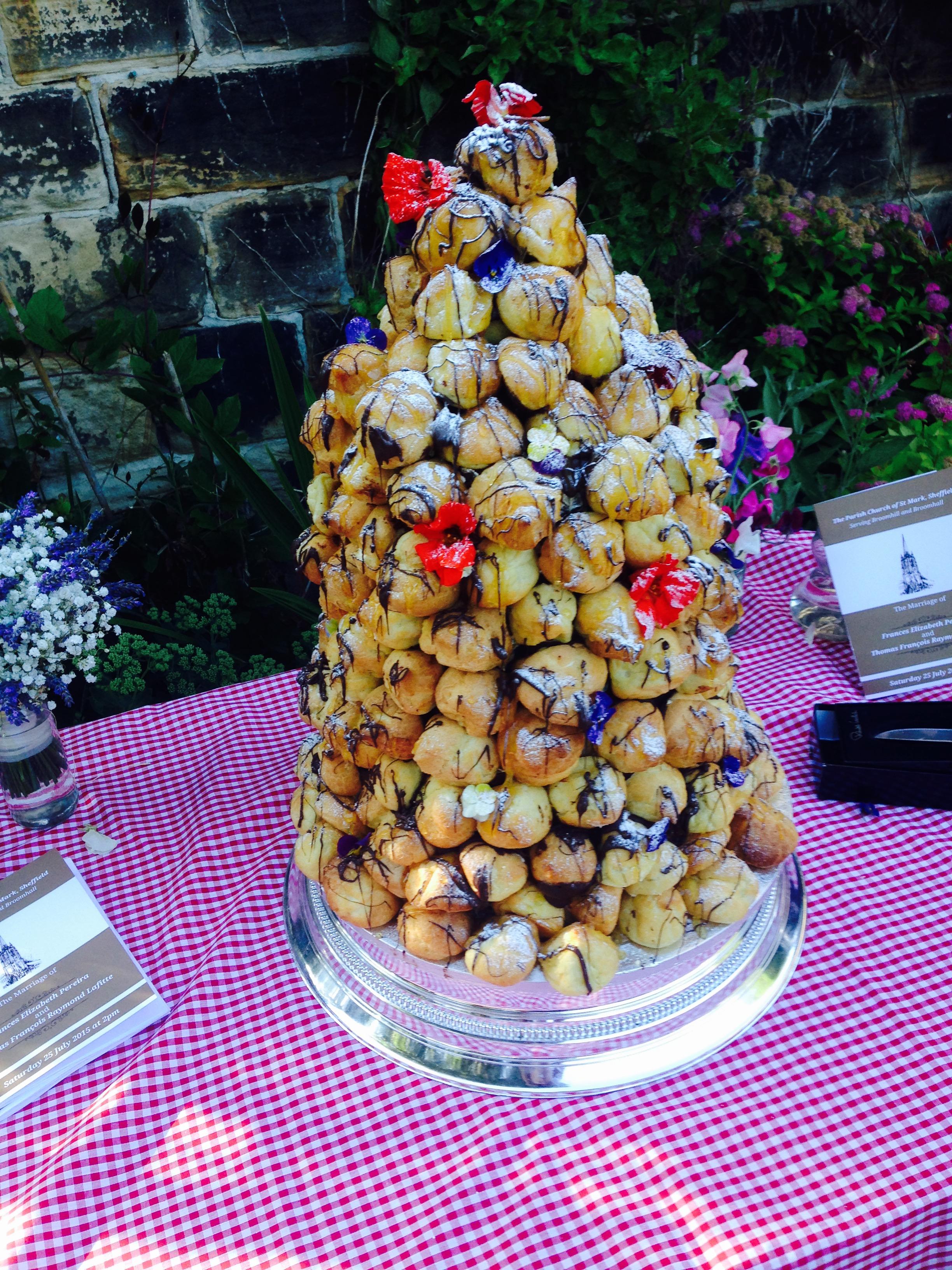 Croquembouche tower by PJ taste