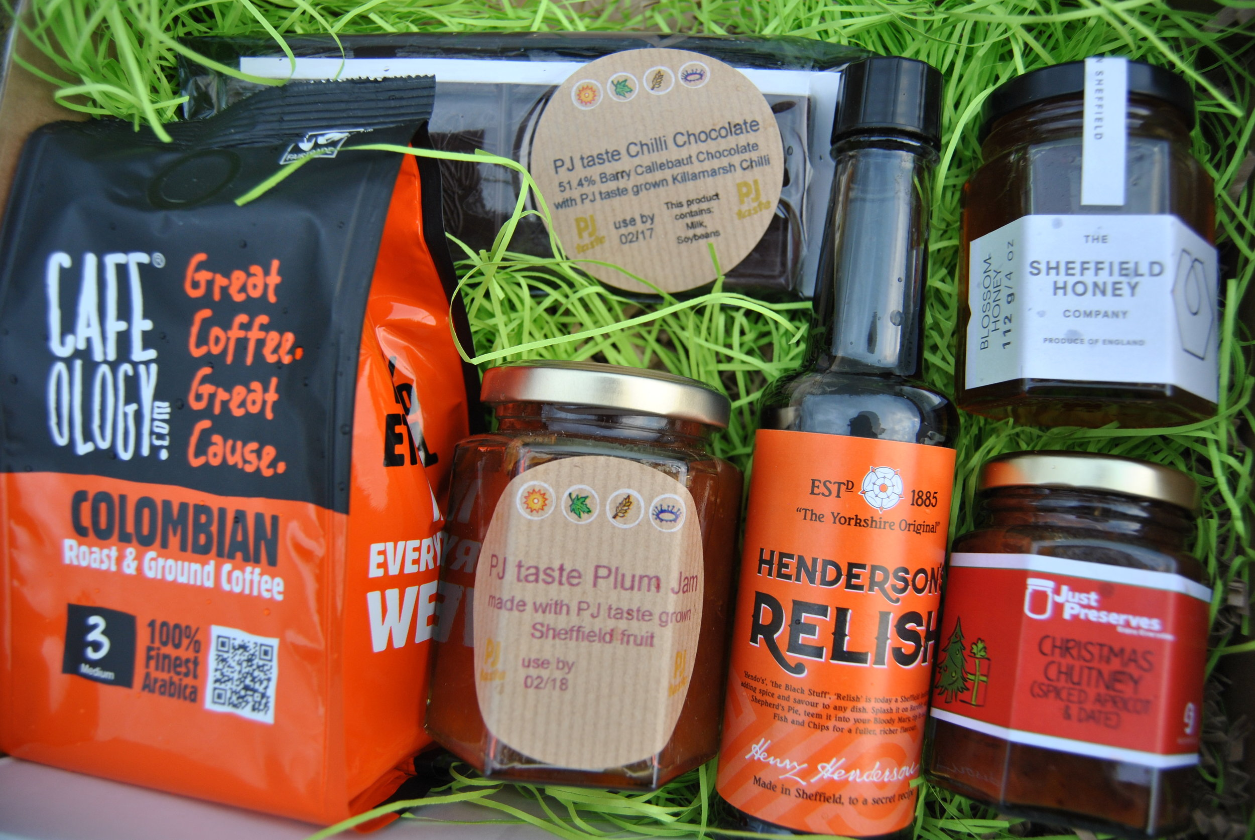 The PJ taste Sheffield Favourites Hamper