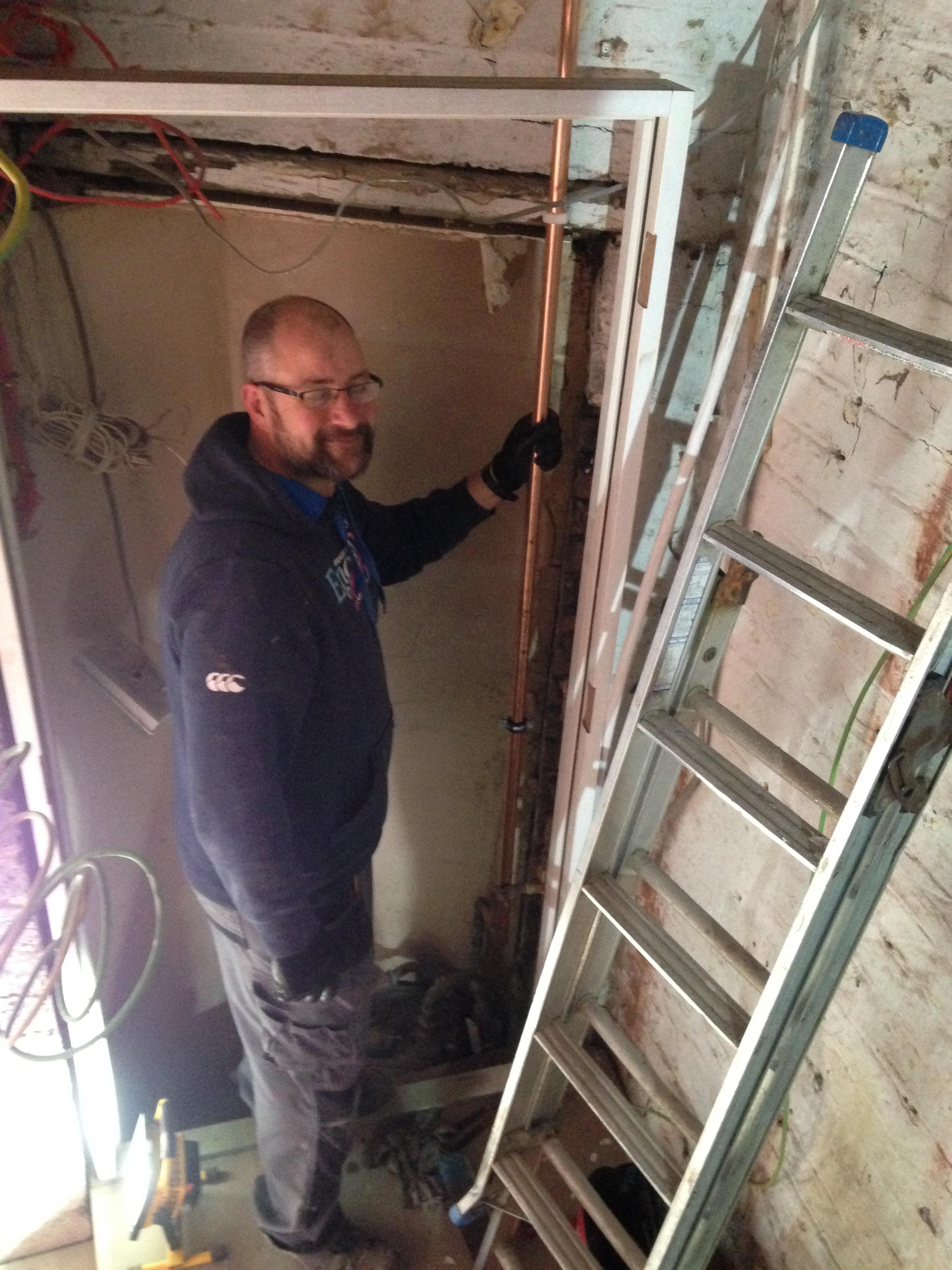 Roger Greensit provided all our plumbing input and made an excellent job despite being challenged with 10 inch concrete floors and very demanding clients!
