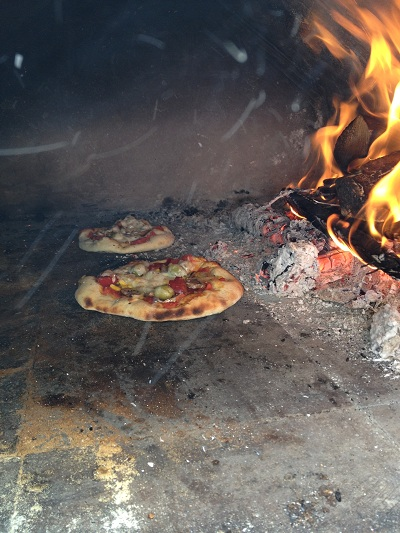 Hign temperature wood oven