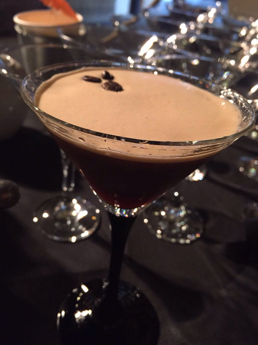 PJ taste espresso chocolate martini cocktail