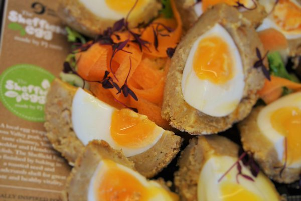The famous Sheffield Egg by PJ taste