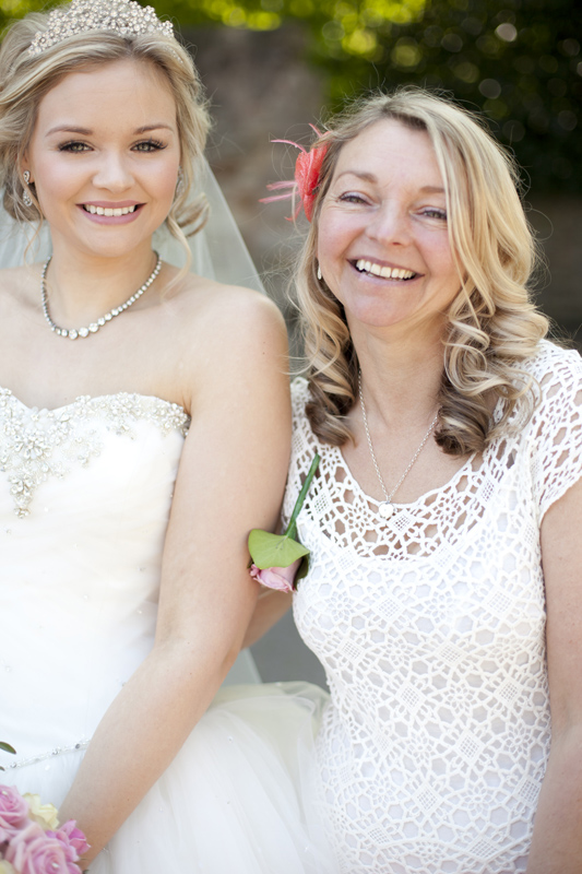 Bride and Mother of the Bride hair by Shona from tsiye 97