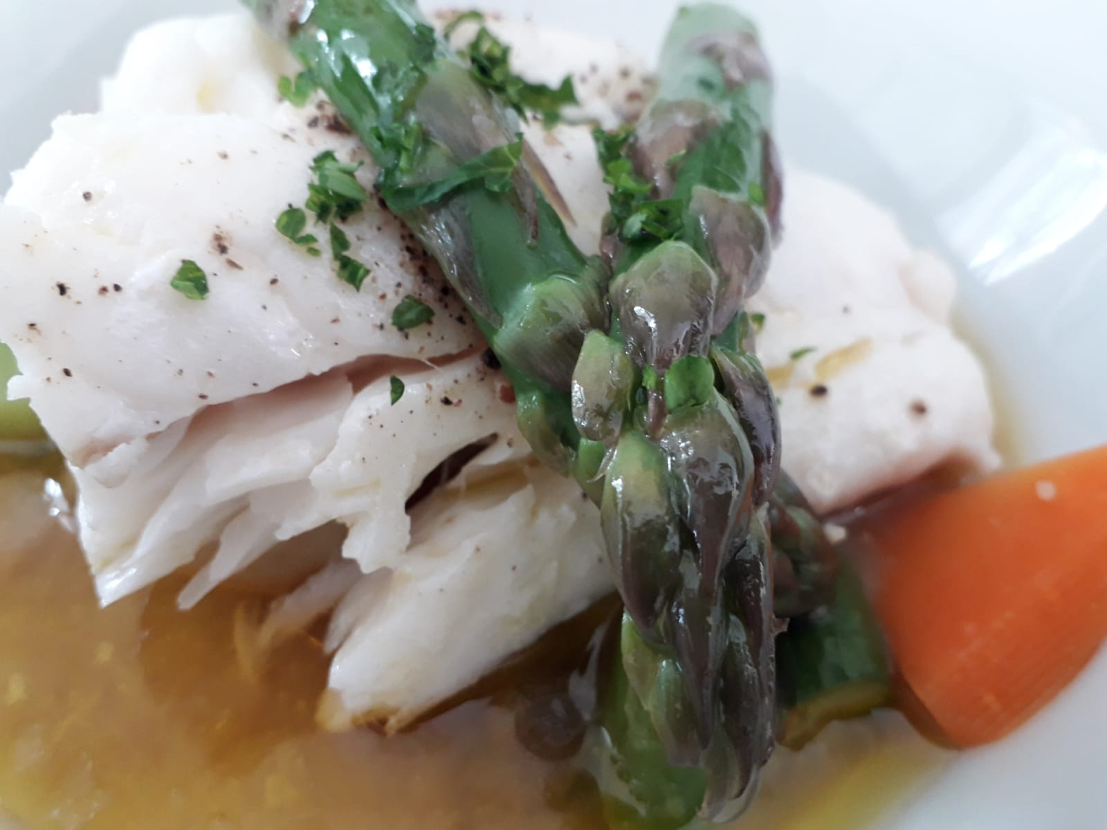 LWL Cod in brown butter sauce - PJ taste.JPG