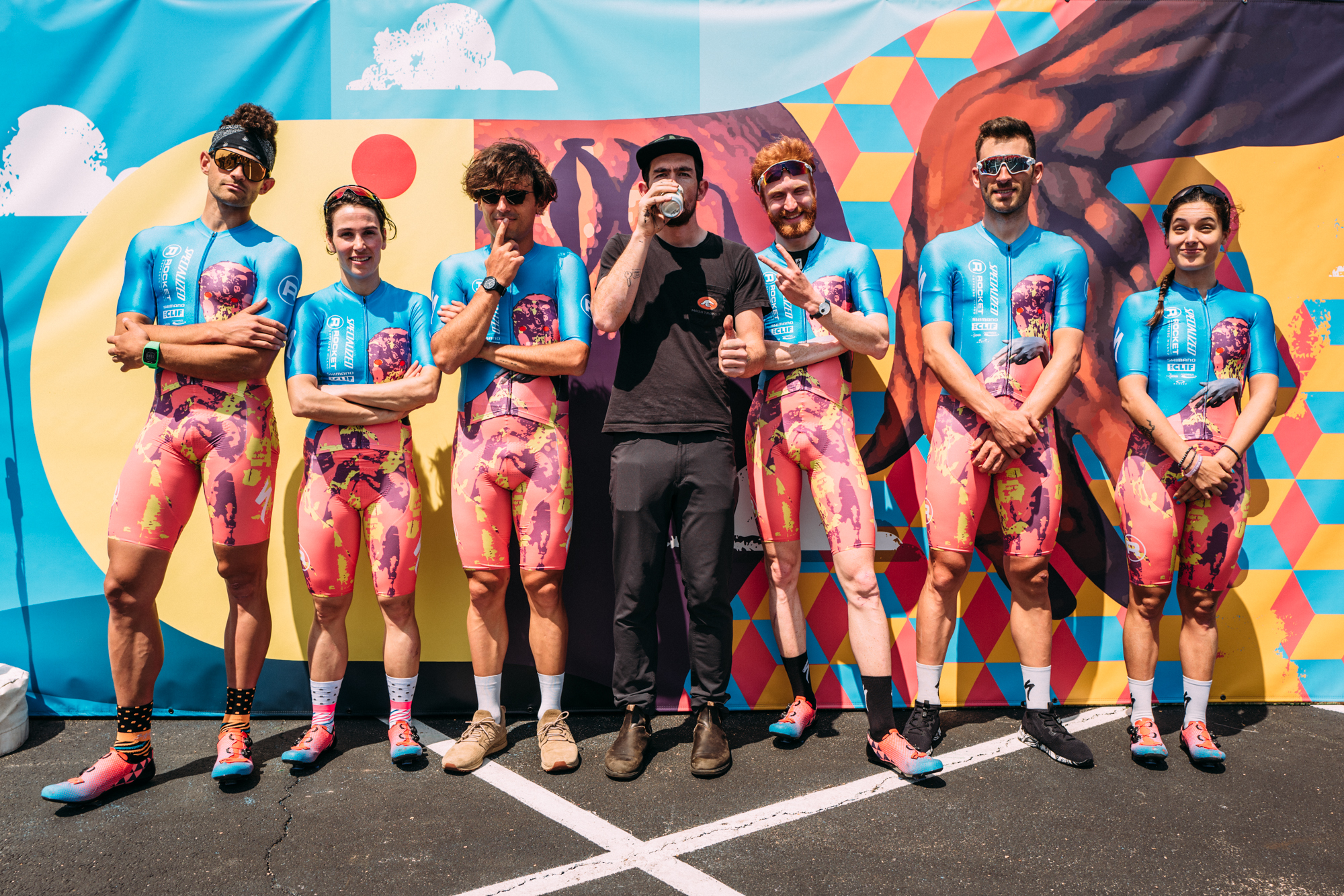 2018 - SPECIALIZED - ROCKET ESPRESSO   This team can do anything. They win the crowd regardless of winning the race. We have focused on rebuilding the sub $2000usd price point focused on art & culture and go-fast, anyone is welcome racing.