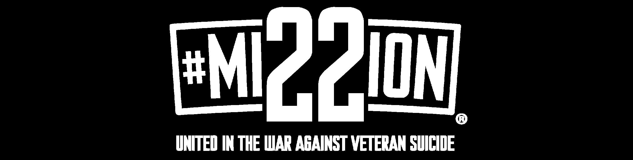 Mission 22 Logo (white)