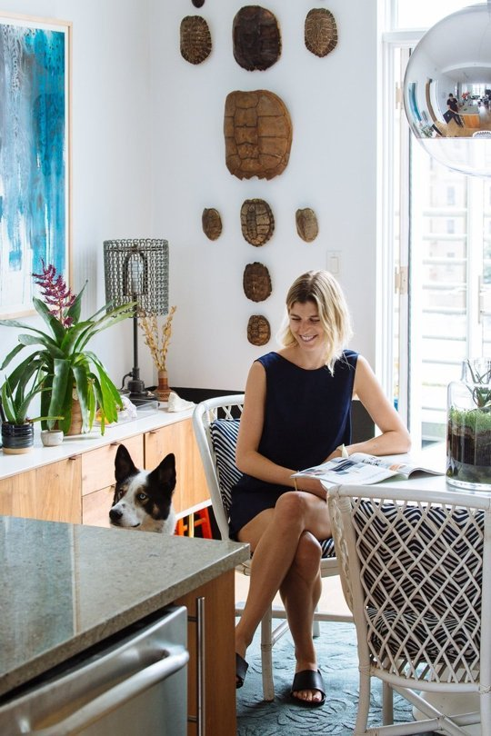 Chris & Jenny's Collective Elegance: Apartment Therapy