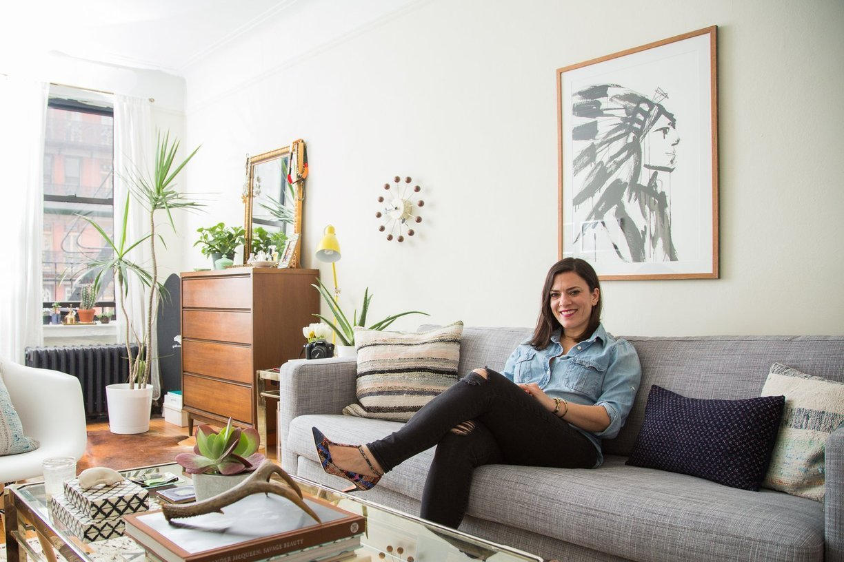 Apartment Therapy - Tamar's Girly Meets Mid- Century Studio