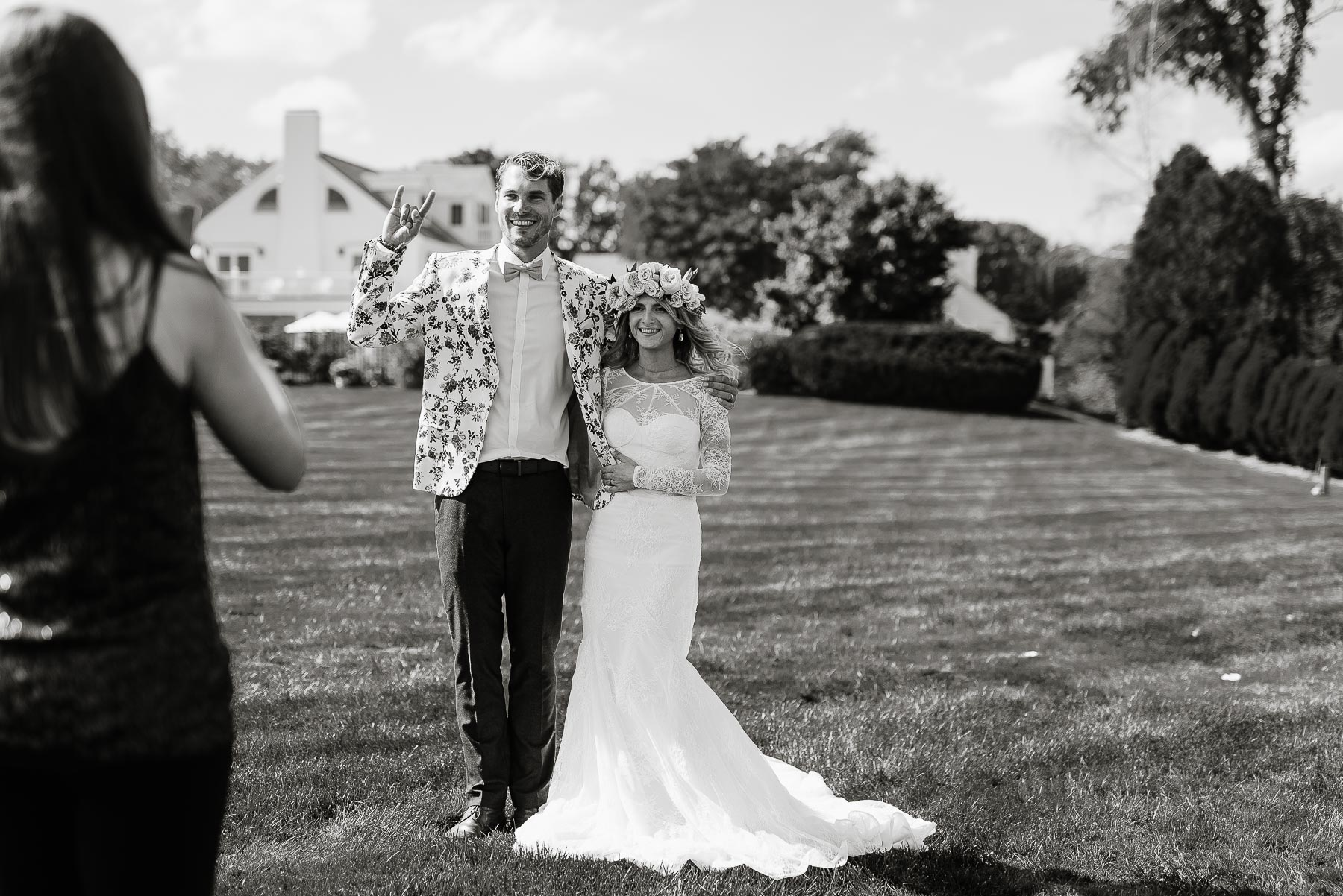 76-Bohemian New Hampshire Beach Wedding Rye New Hampshire Weddings Summer Sessions Surf Shop Longbrook Photography.jpg