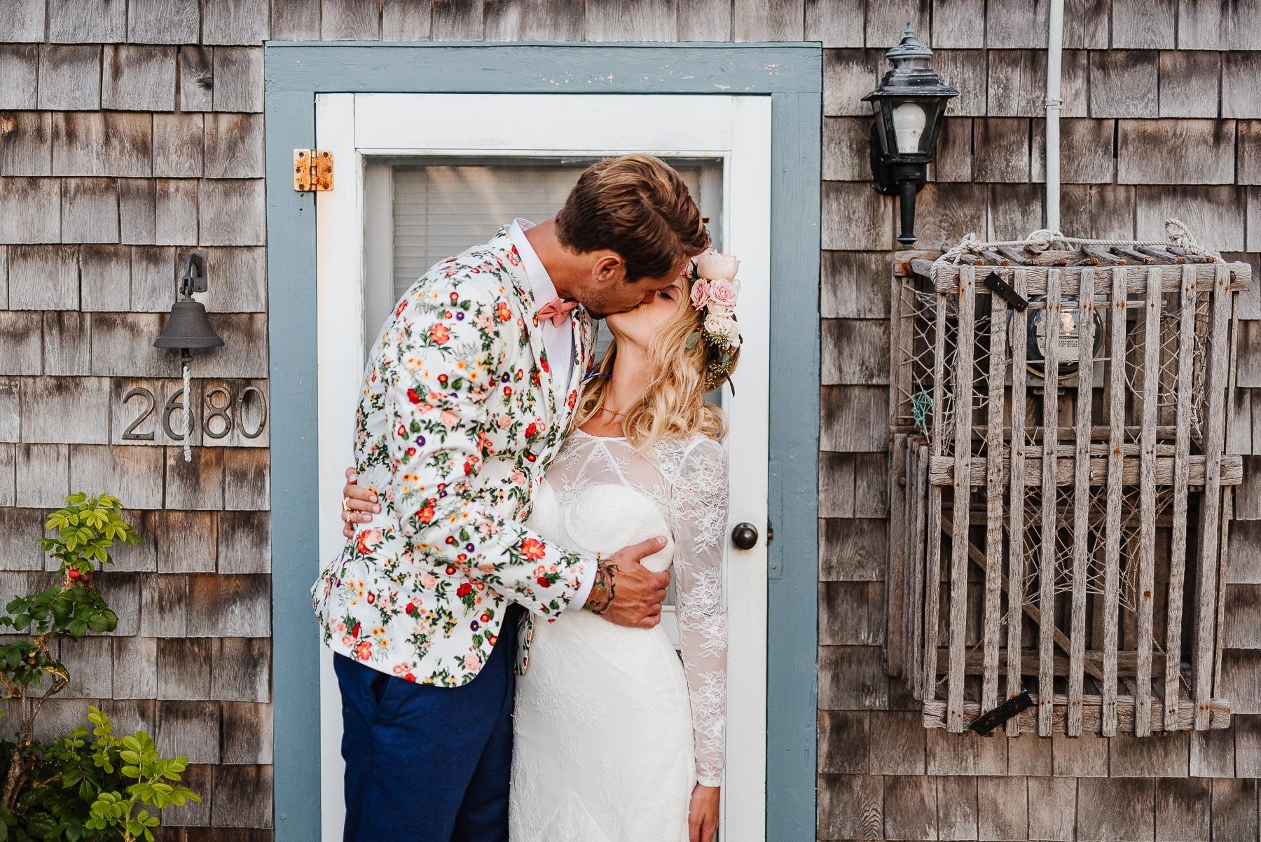 149-Bohemian New Hampshire Beach Wedding Rye New Hampshire Weddings Summer Sessions Surf Shop Longbrook Photography.jpg