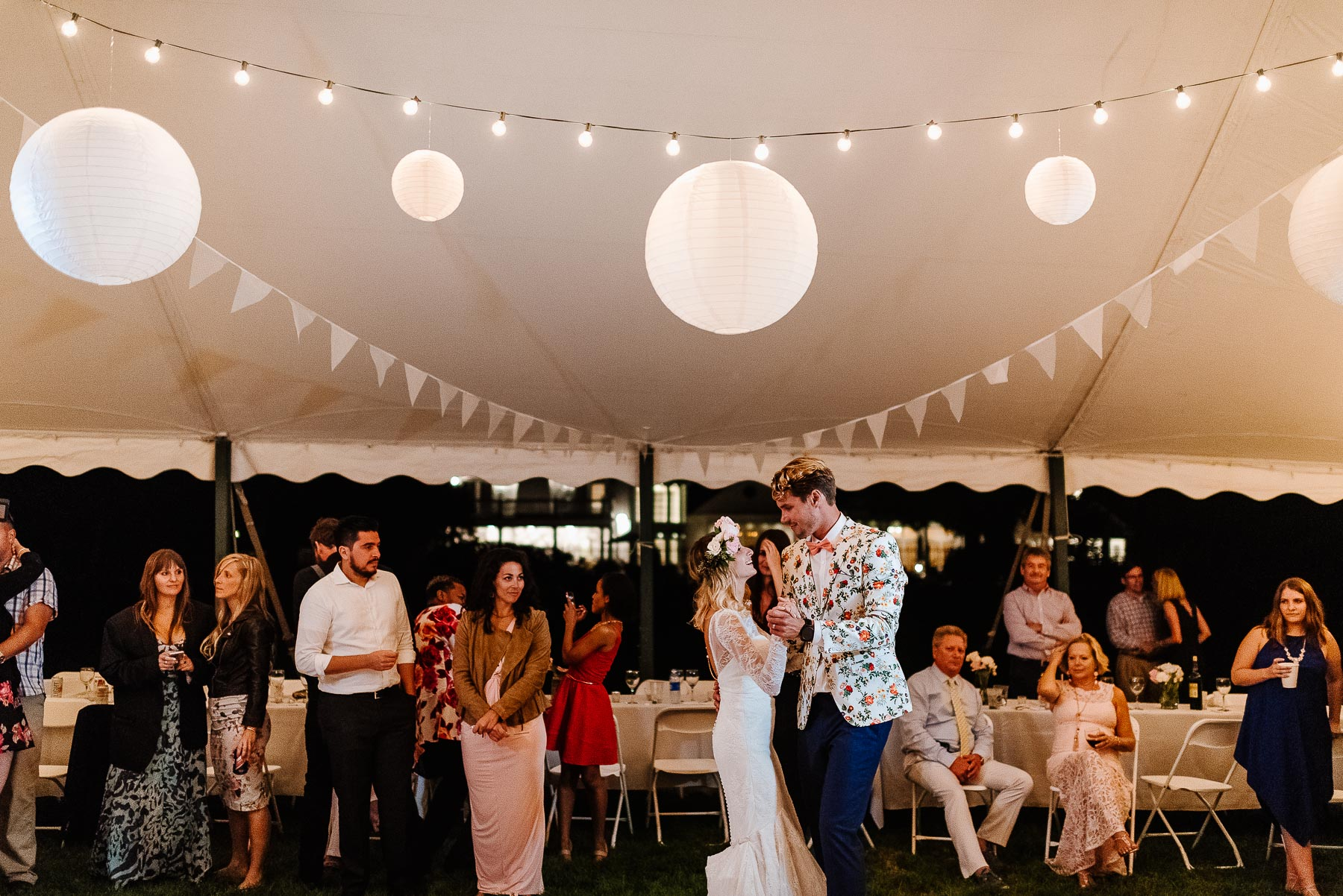168-Bohemian New Hampshire Beach Wedding Rye New Hampshire Weddings Summer Sessions Surf Shop Longbrook Photography.jpg