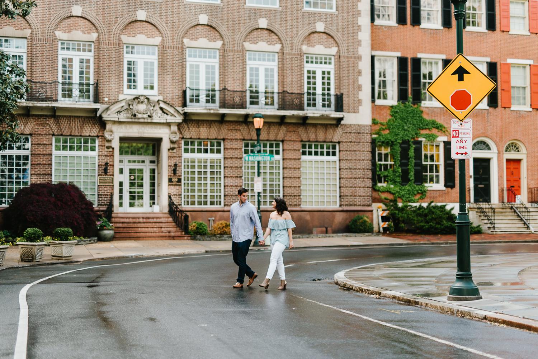 0006-Philadelphia Wedding Photographer Rittenhouse Engagement Center City Philly Engagement Photos Philly Weddings.jpg