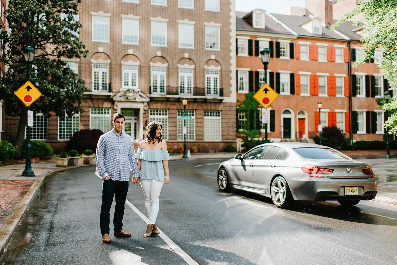 0007-Philadelphia Wedding Photographer Rittenhouse Engagement Center City Philly Engagement Photos Philly Weddings.jpg