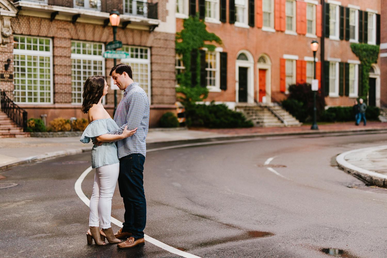 0016-Philadelphia Wedding Photographer Rittenhouse Engagement Center City Philly Engagement Photos Philly Weddings.jpg