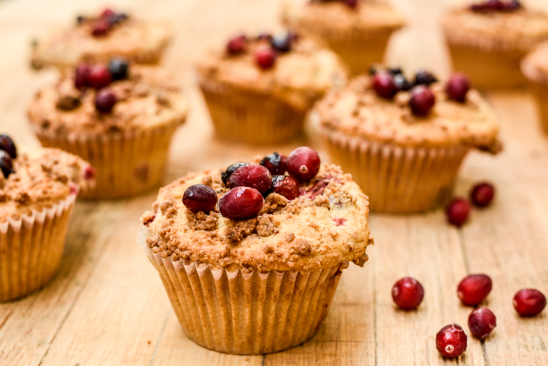 Copy of Cranberry Crumble Muffin