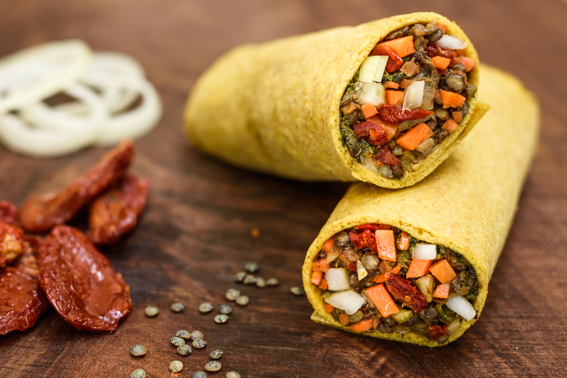 Copy of Lentil & Basil Wrap