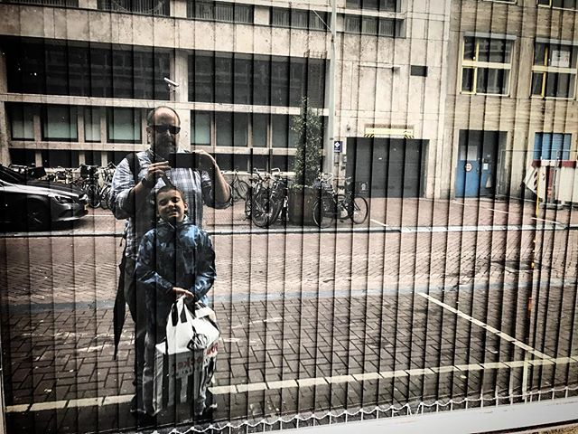Selfie part two  #thedutch #thenetherlands #dutch #amsterdam #imagesforyoursenses #streetphotography #traveler #pictureoftheday  #fatherson