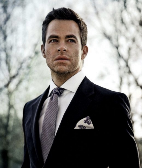 Chris Pine in  C for Men Magazine