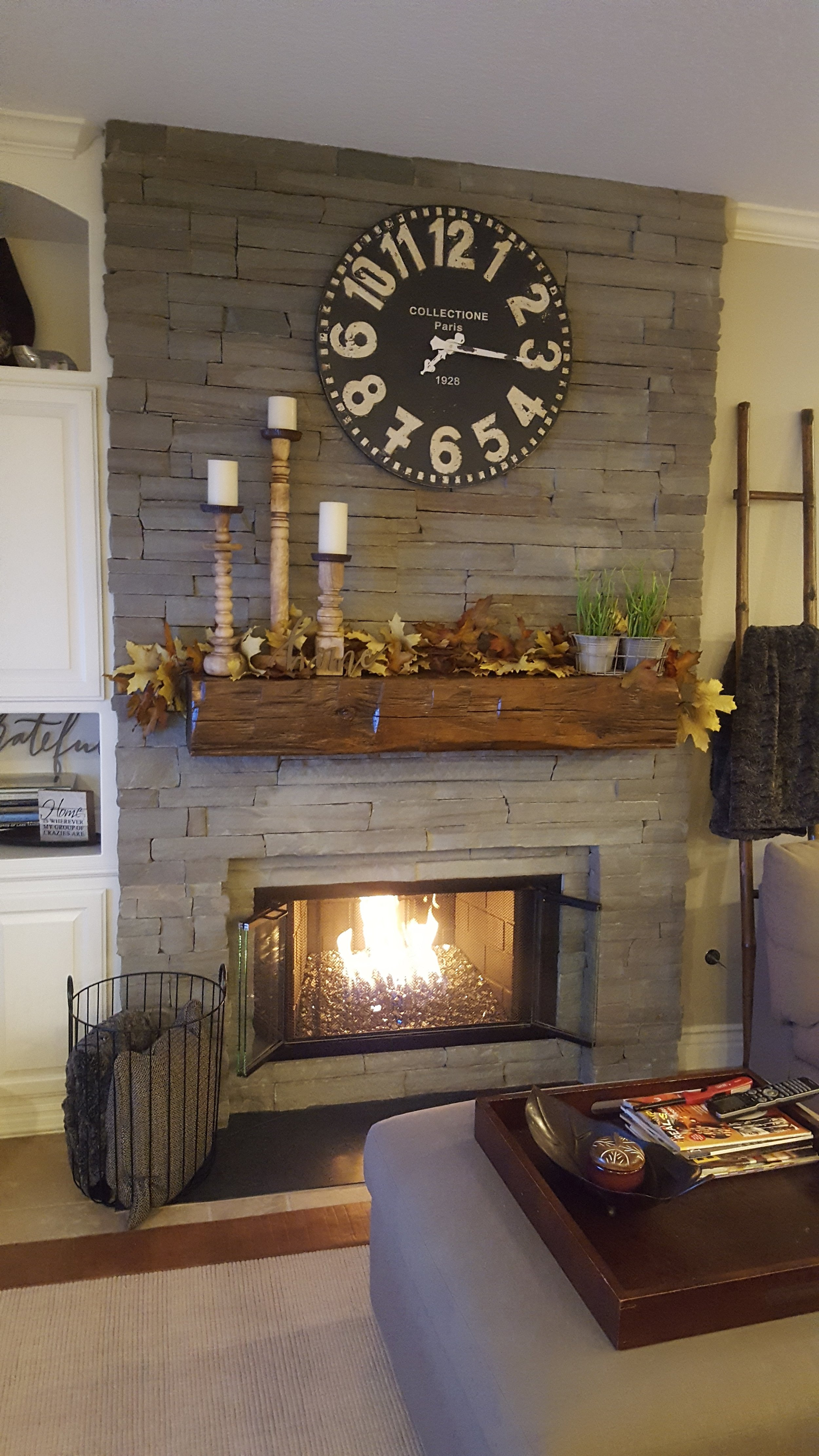 Reclaimed barn beams create wonderful mantels! U.S. Reclaimed, Vintage Lumber and Wood Works is stocked with reclaimed beams that date back to the early 1800's. Each piece is unique and filled with history. We also offer a variety of finishes to create a custom look that is like no other. Visit the store or contact us to get started with your reclaimed wood mantel. We are ready to help you find your vintage wood piece.