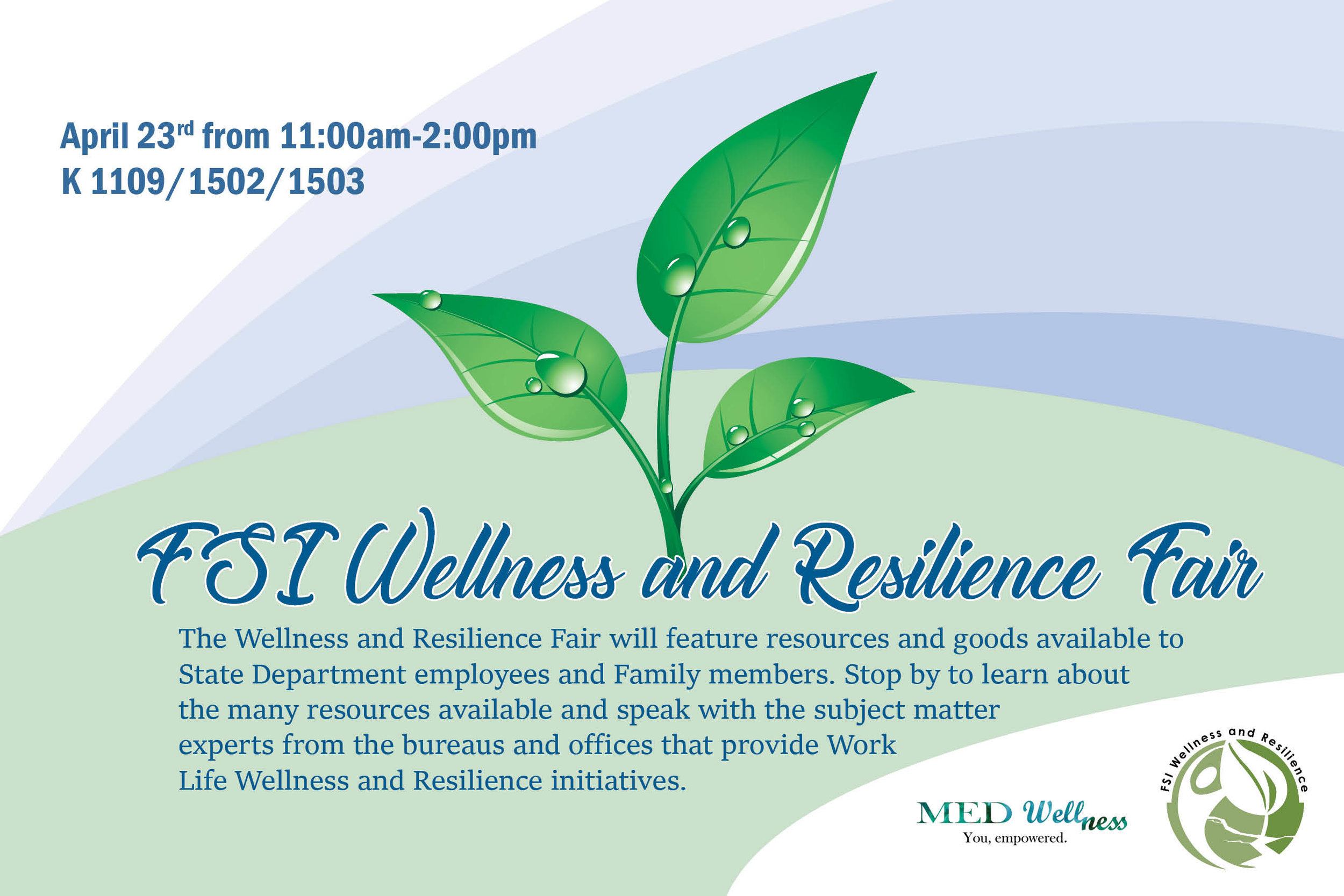 FSI Wellness and Resilience Fair