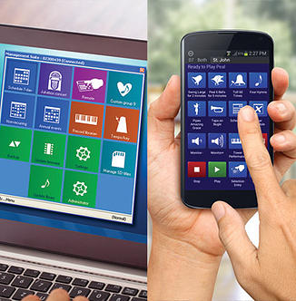 Management software and remote control mobile apps