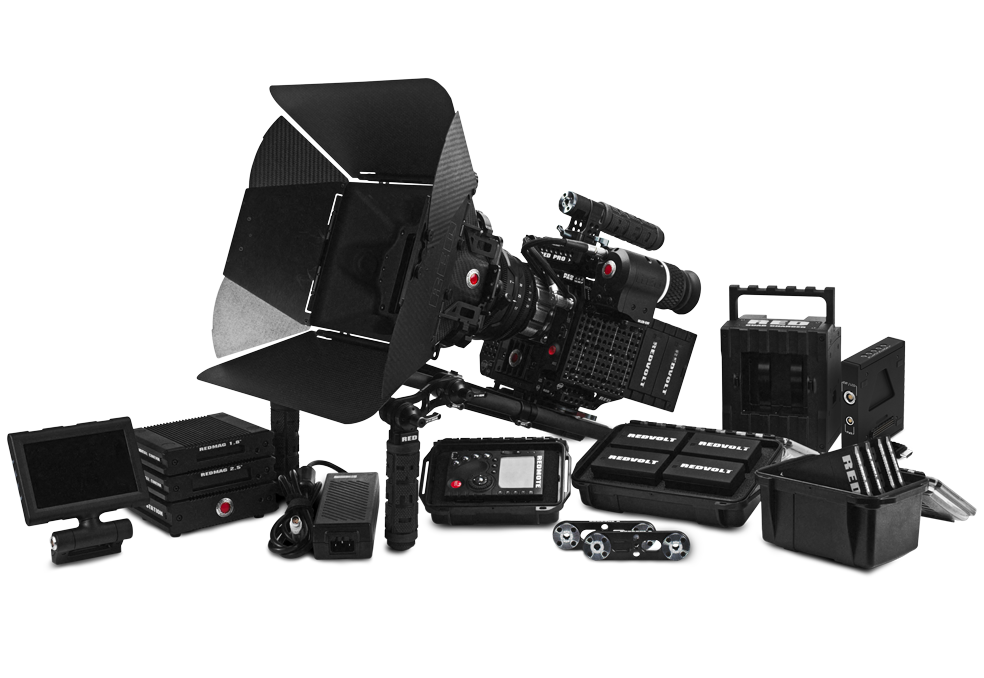 RED Scarlet-X Camera Package.