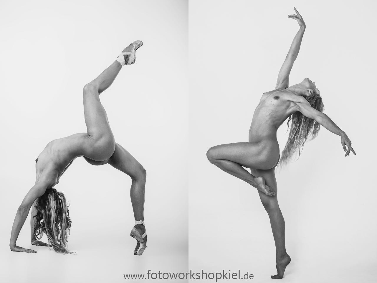 Athletischer Akt Fotoworkshop Kiel Aktfotografie