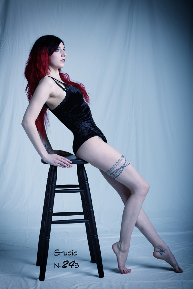 Dessous Shooting - cool - sexy - red hair