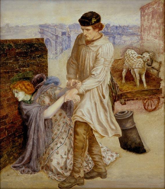 Found, by Dante Gabriel Rossetti.
