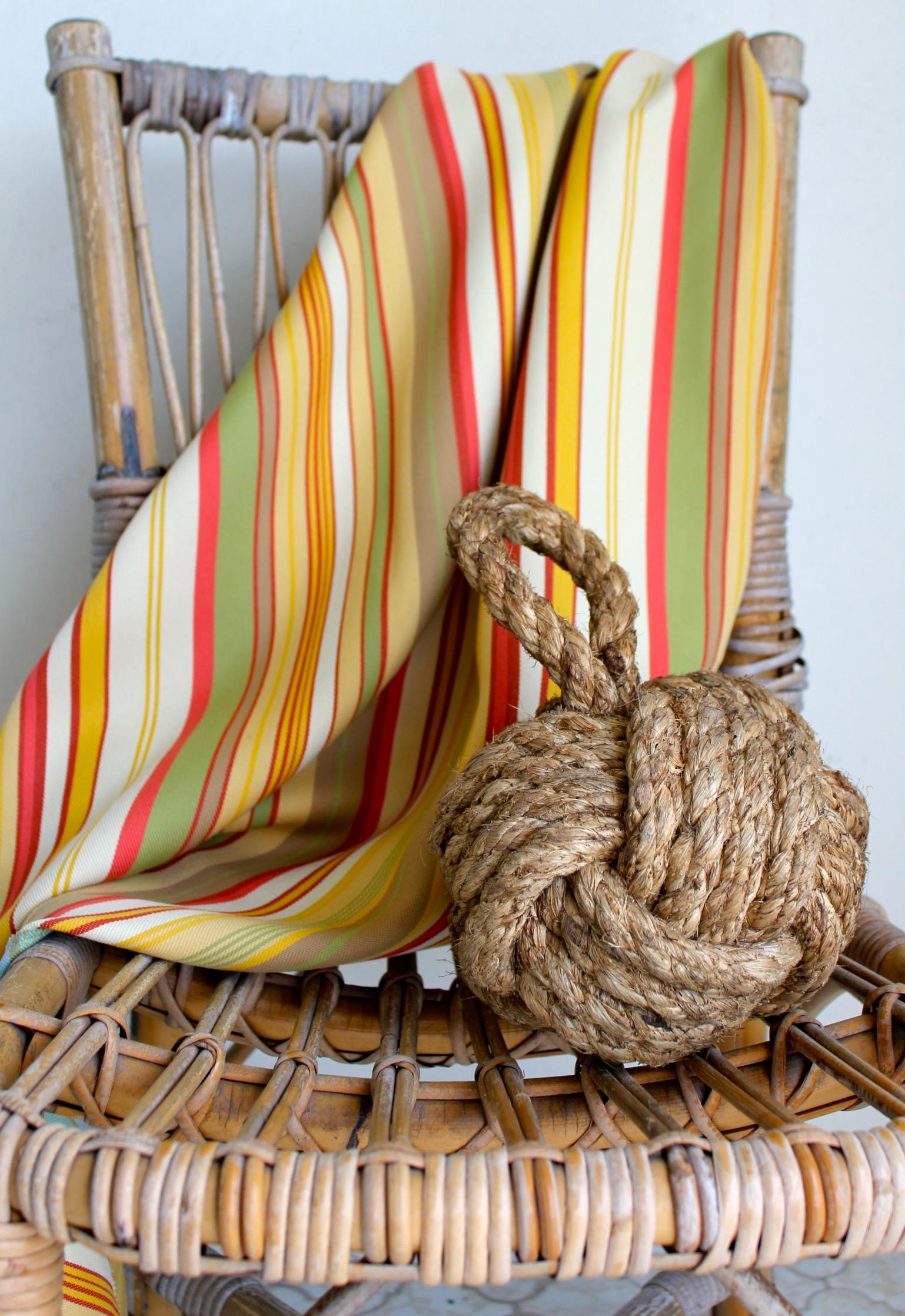 Veranda Stripe in Soleil W111-3