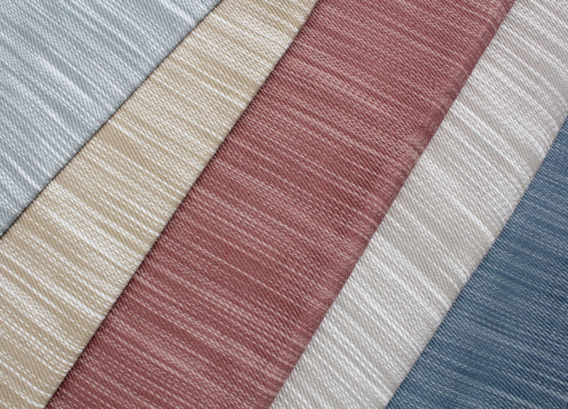 Quarry  A textured woven strie in 5 nature-inspired colorways.