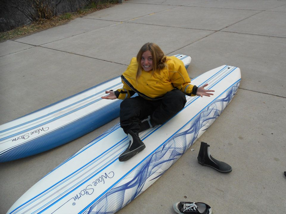 Back in 2011. Thank you Shaine for lending me all your gear and getting me out on the water!
