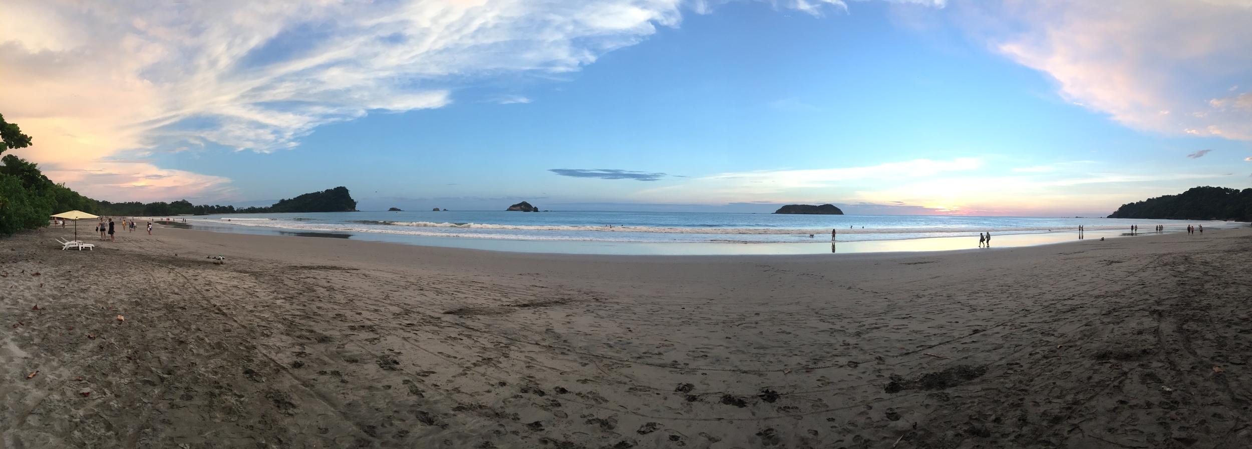 Sunset at Playitas Beach