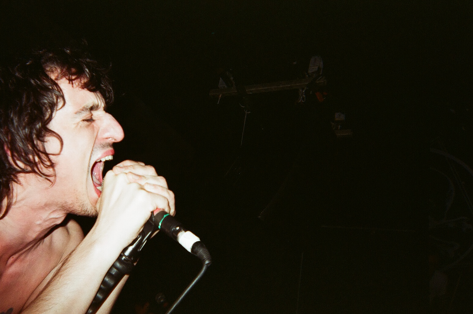 Lias Saoudi of Fat White Family || St. Vitus Bar, Brooklyn || 35mm || 2016