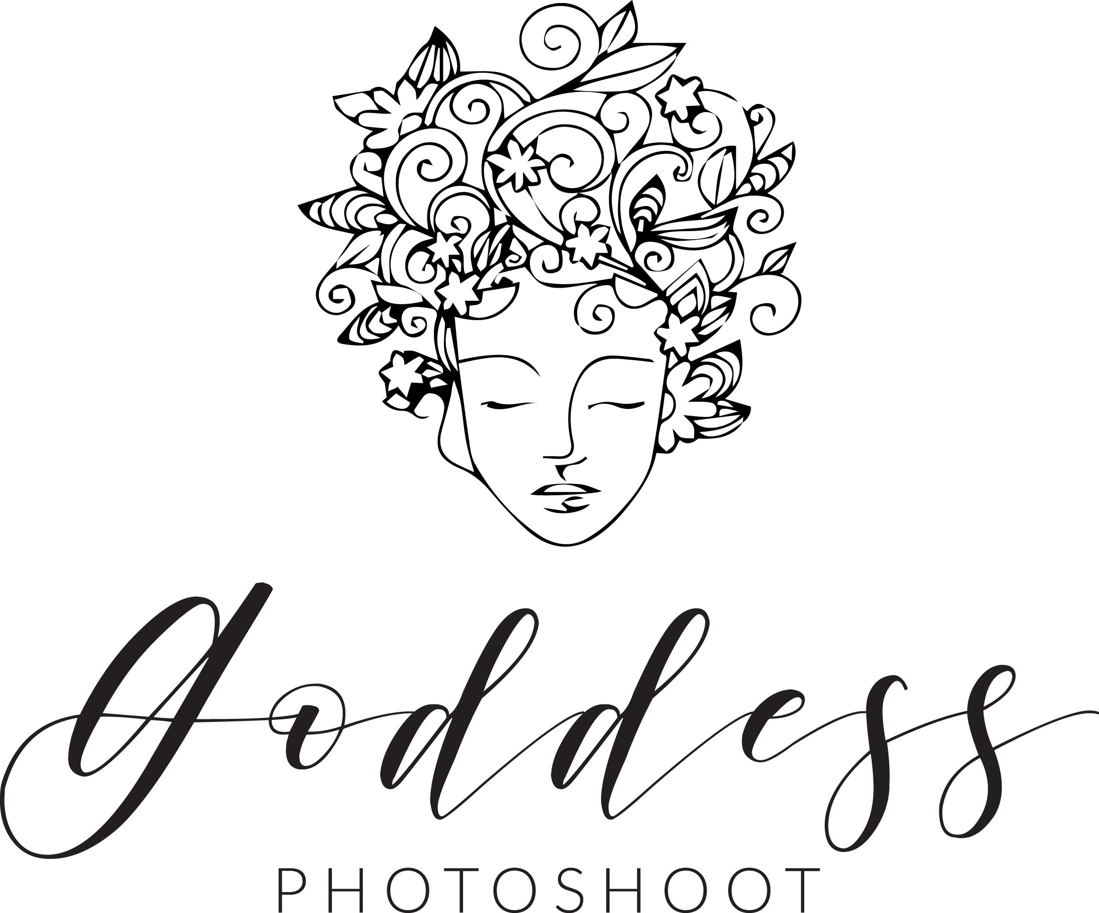 goddess photoshoot logo
